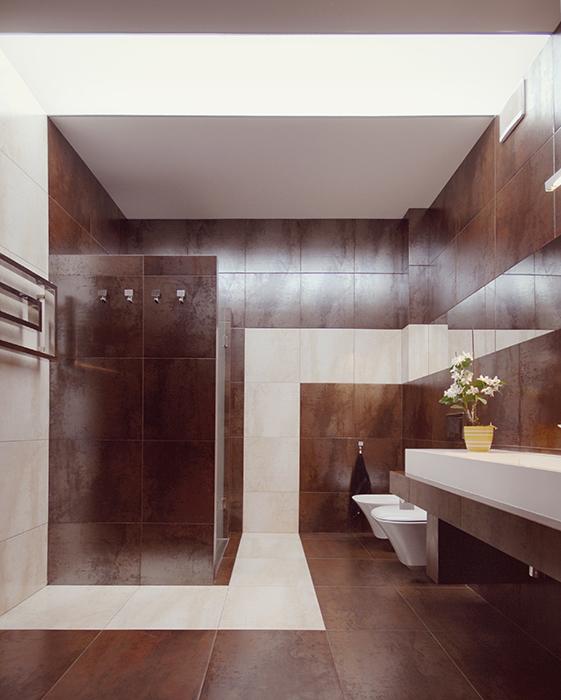Квартира. ванная из проекта , фото №39189