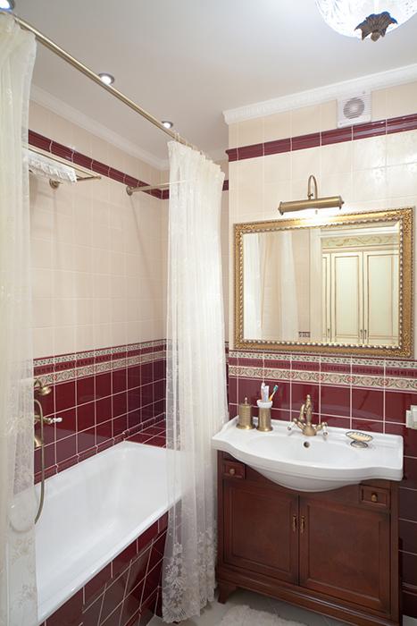 Квартира. ванная из проекта , фото №39414