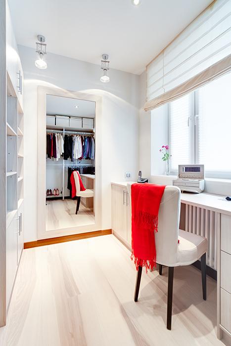 интерьер гардеробной - фото № 39429