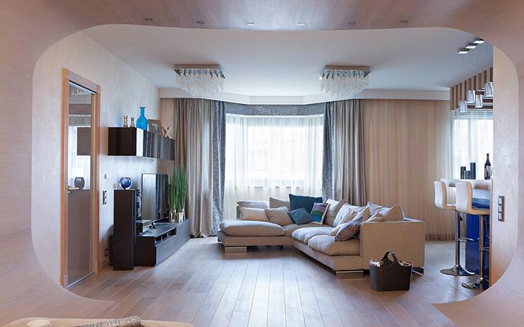 Квартира. гостиная из проекта , фото №39501