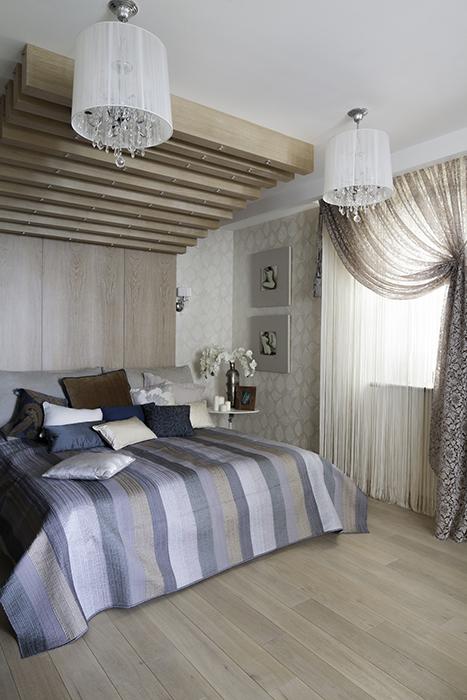 Квартира. спальня из проекта , фото №39522