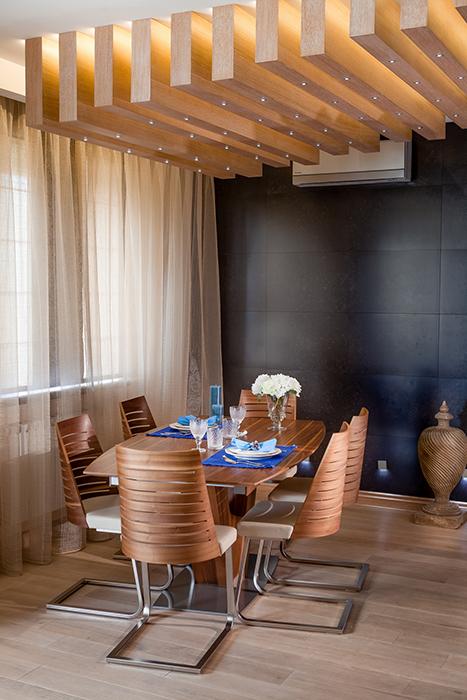 Дизайн совмещенной кухни с гостиной