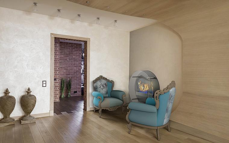 Квартира. гостиная из проекта , фото №39524