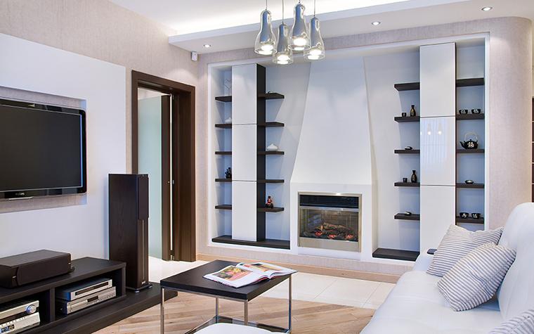 Фото № 39505 гостиная  Квартира