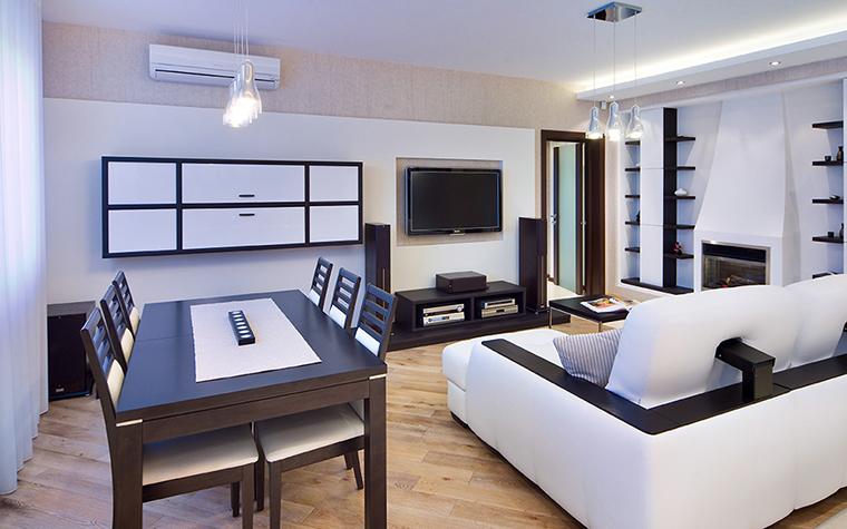 Квартира. столовая из проекта , фото №39508