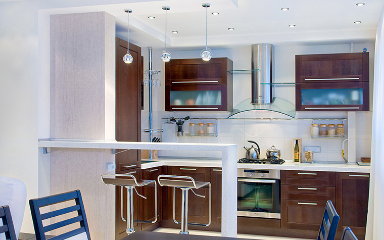 Квартира. кухня из проекта , фото №39510