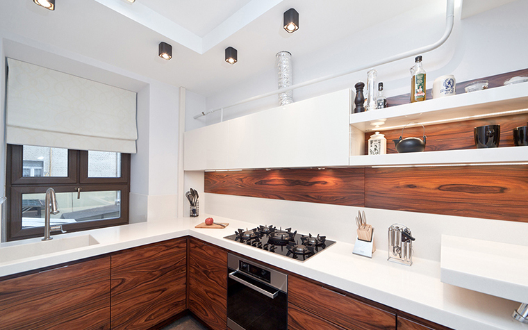 Фото № 39530 кухня  Квартира
