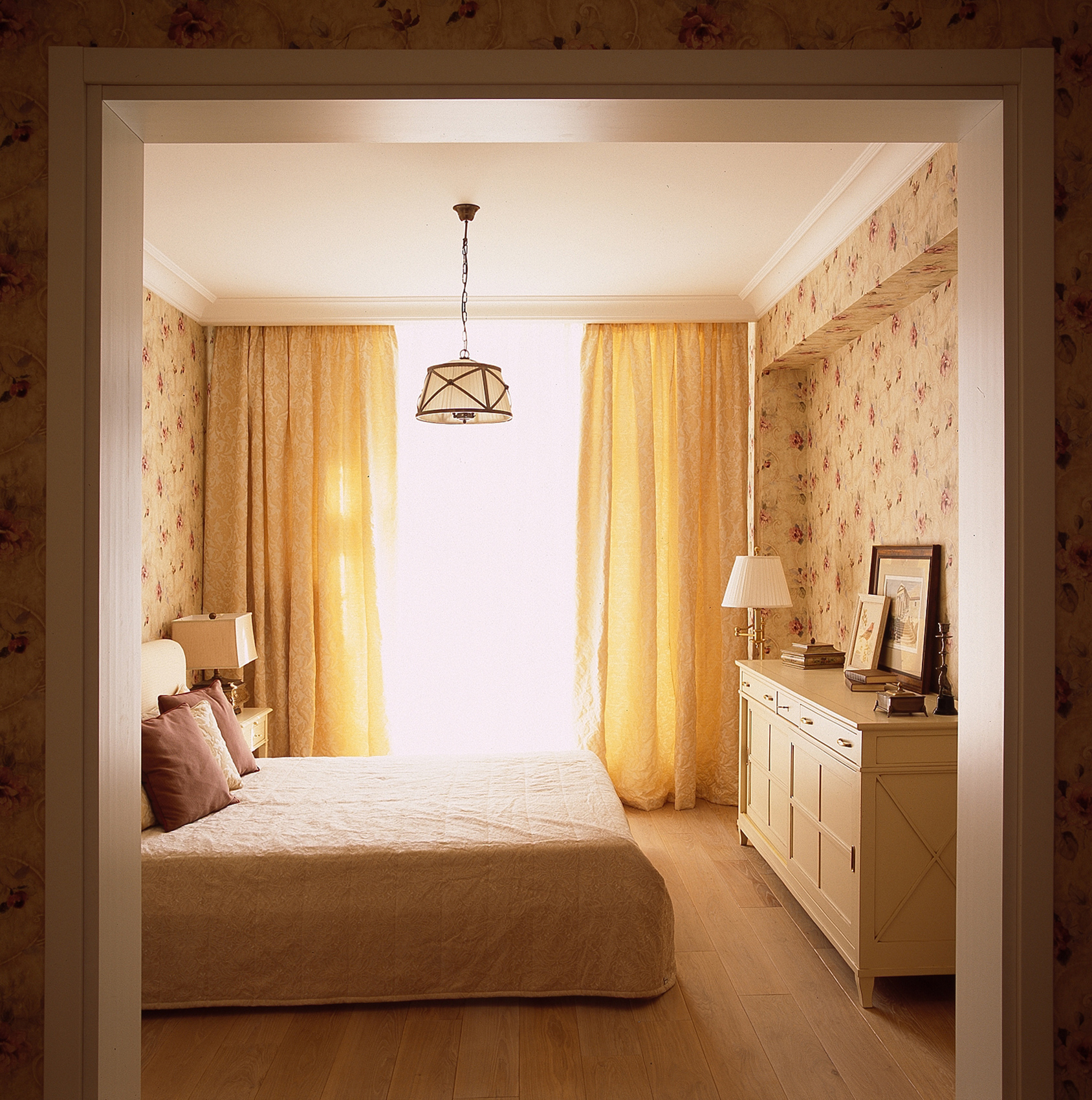 Квартира. спальня из проекта , фото №39799