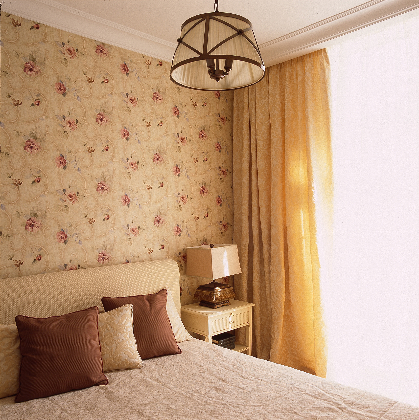 Квартира. спальня из проекта , фото №39800