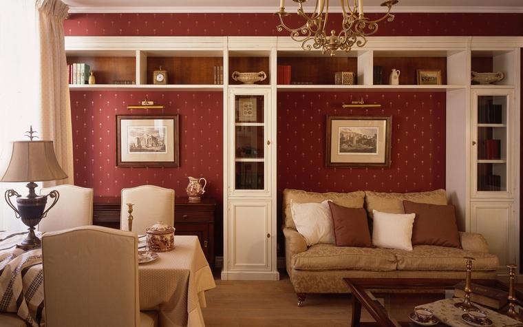 Квартира. гостиная из проекта , фото №39792