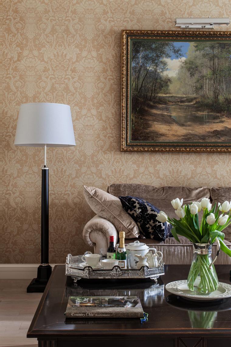 Фото № 39928 гостиная  Квартира