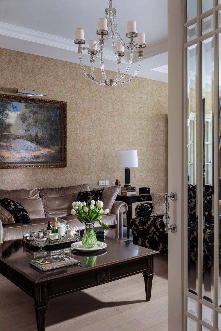 Фото № 39926 гостиная  Квартира