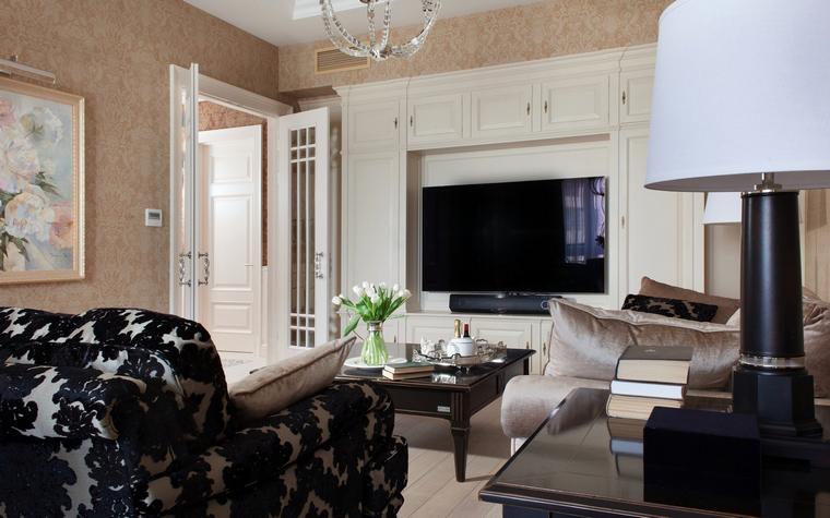 Фото № 39927 гостиная  Квартира