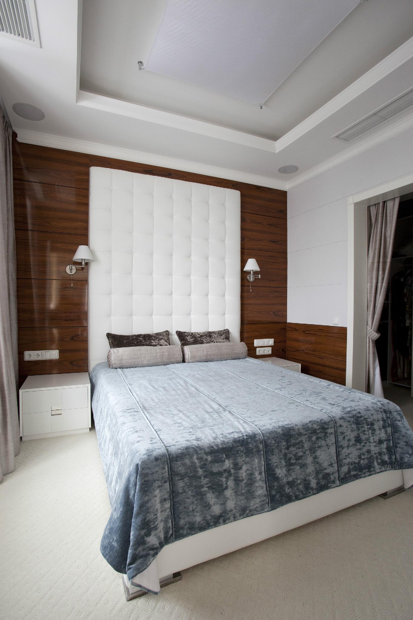 интерьер спальни - фото № 40040