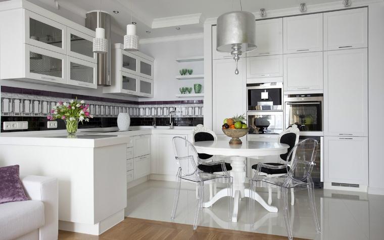 Квартира. кухня из проекта , фото №40039