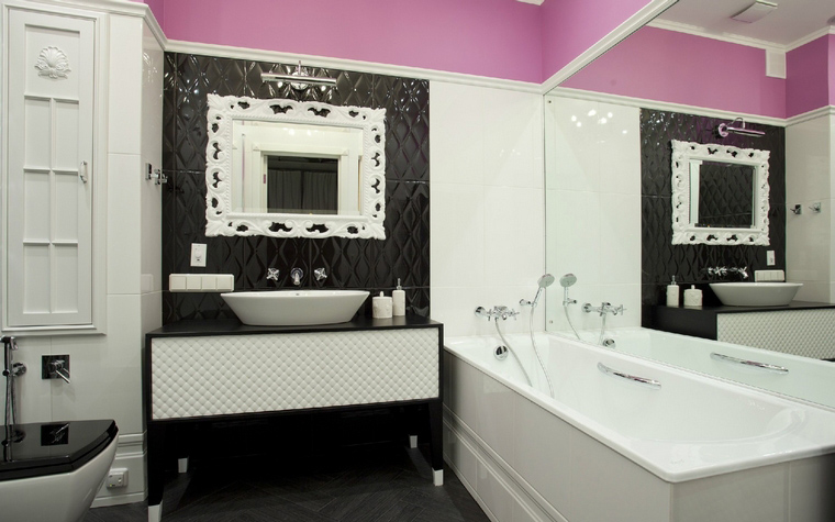 Квартира. ванная из проекта , фото №40044