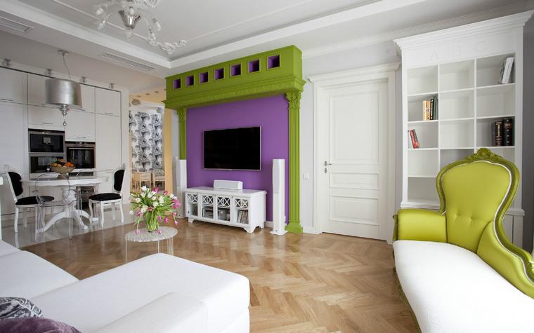 Квартира. гостиная из проекта , фото №40033