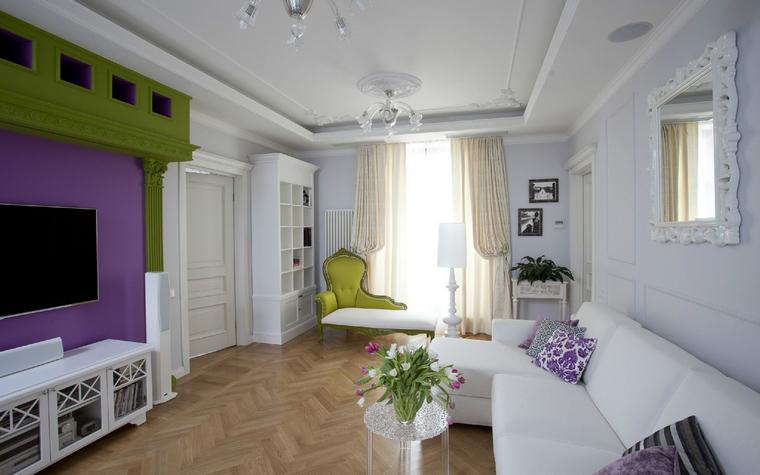 Квартира. гостиная из проекта , фото №40034
