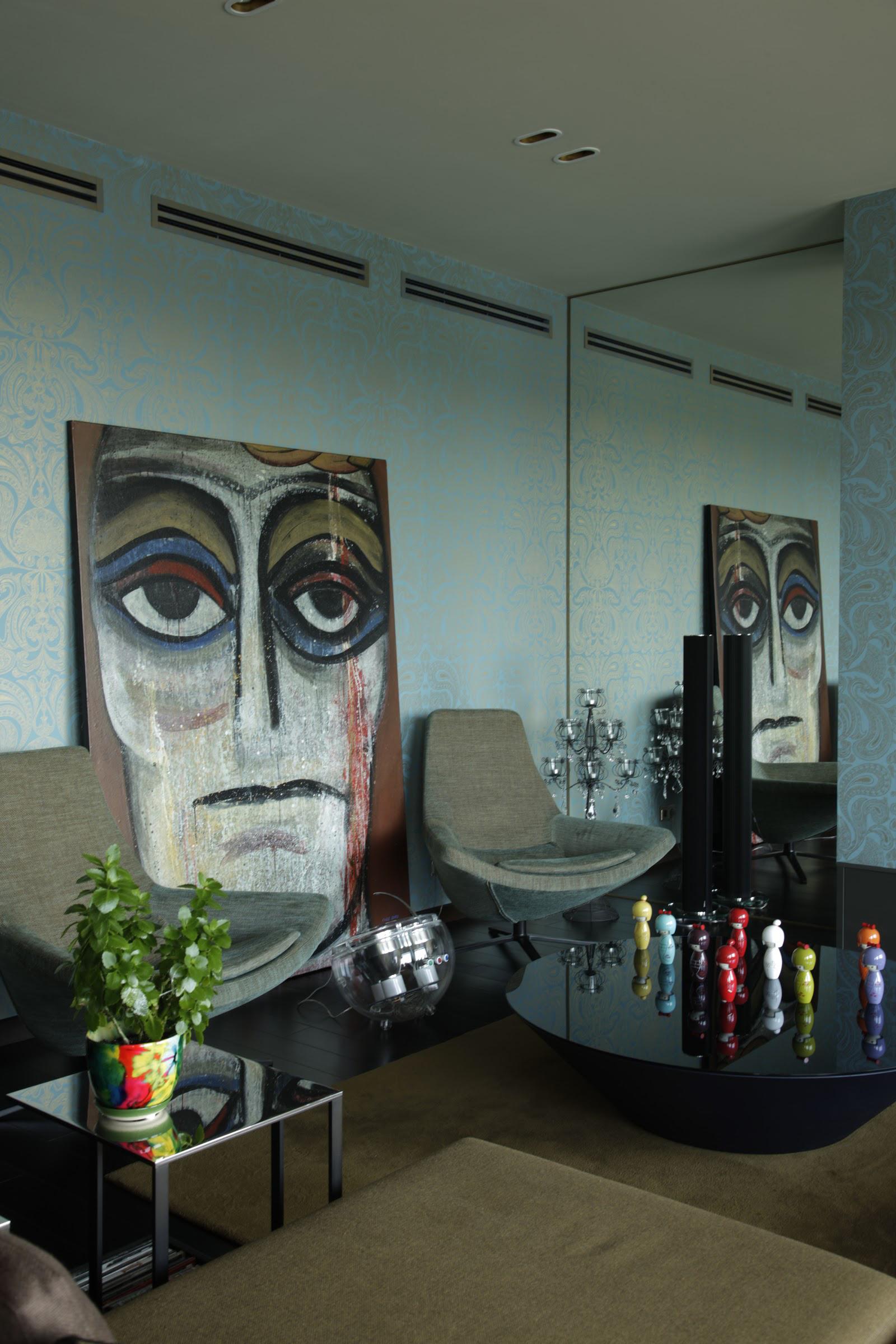 Квартира. гостиная из проекта , фото №40140