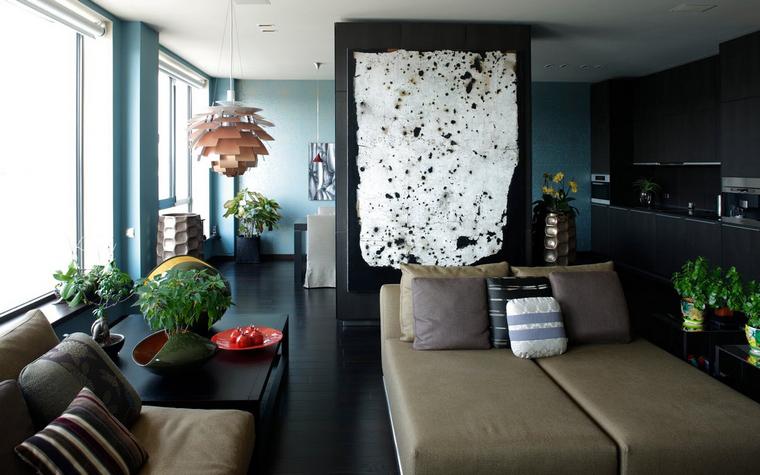Квартира. гостиная из проекта , фото №40141