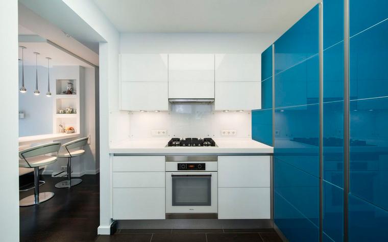 Фото № 40219 кухня  Квартира