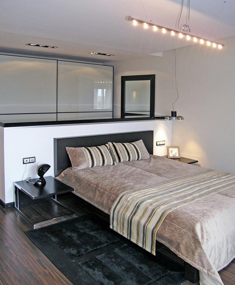 Квартира. спальня из проекта , фото №40257