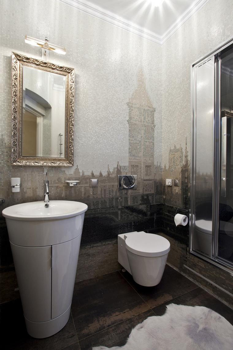 Квартира. ванная из проекта , фото №40327
