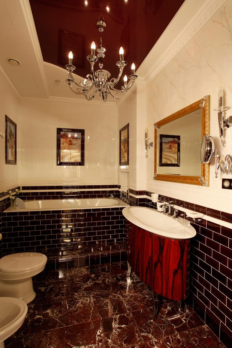 Квартира. ванная из проекта , фото №40328