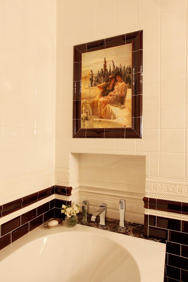 Квартира. ванная из проекта , фото №40329