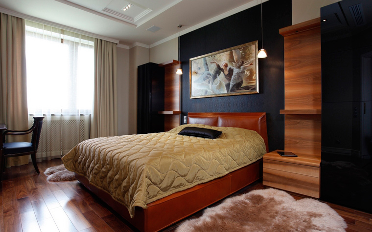 Фото № 40326 спальня  Квартира