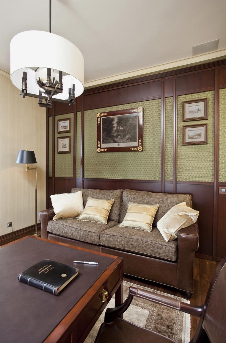 Квартира. кабинет из проекта , фото №40322