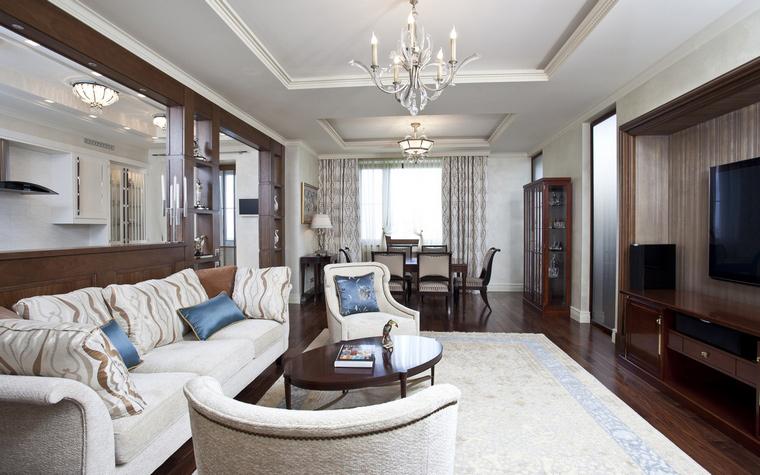 Квартира. гостиная из проекта , фото №40314