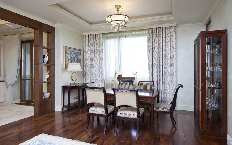Квартира. столовая из проекта , фото №40318