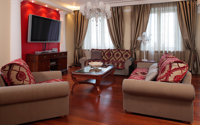 Фото № 33688 гостиная  Квартира