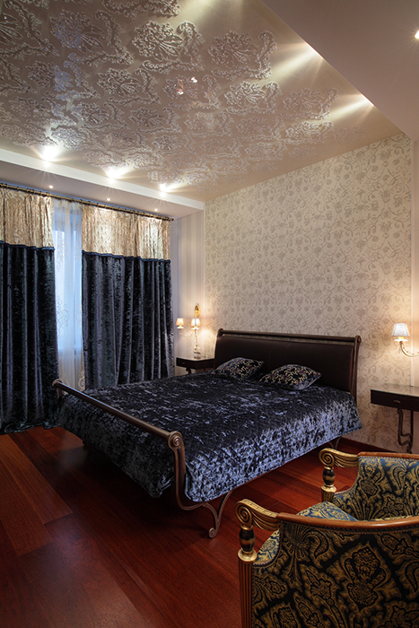 интерьер спальни - фото № 33690