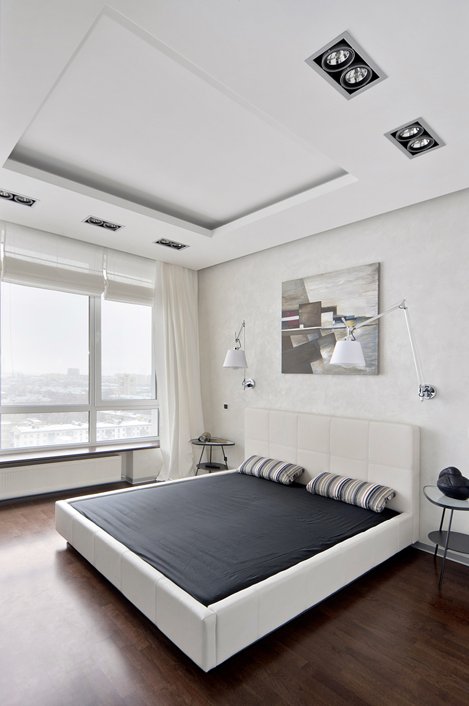 Квартира. спальня из проекта , фото №43025