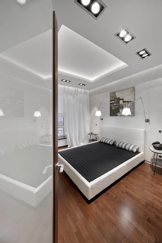 Квартира. спальня из проекта , фото №43036