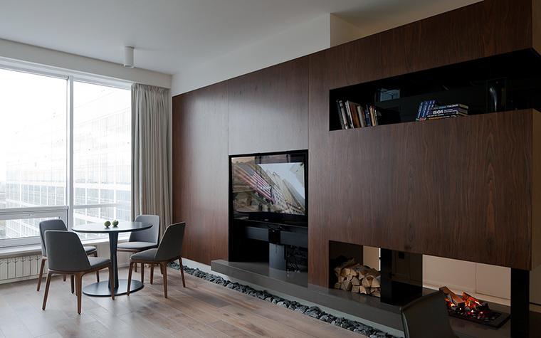 интерьер гостиной - фото № 45740