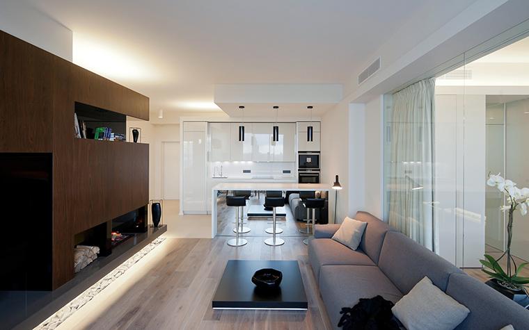 интерьер гостиной - фото № 45748