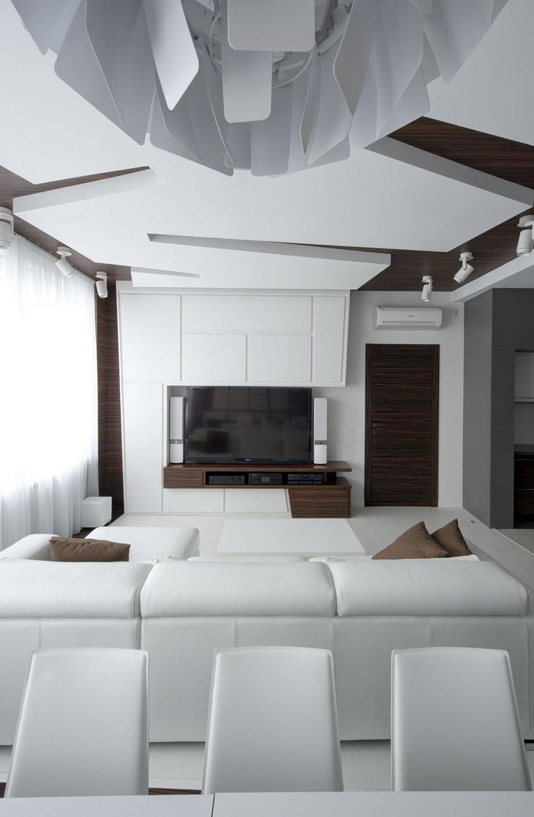 интерьер гостиной - фото № 48046