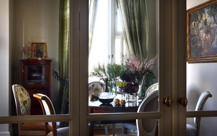 Квартира. столовая из проекта , фото №48364