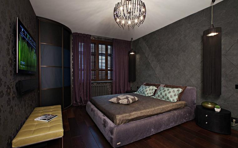 Квартира. спальня из проекта , фото №40420