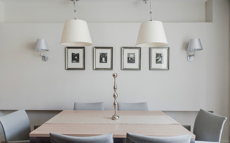 Квартира. столовая из проекта , фото №40576