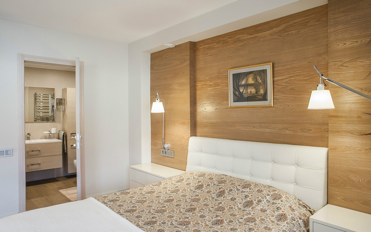 Квартира. спальня из проекта , фото №40577