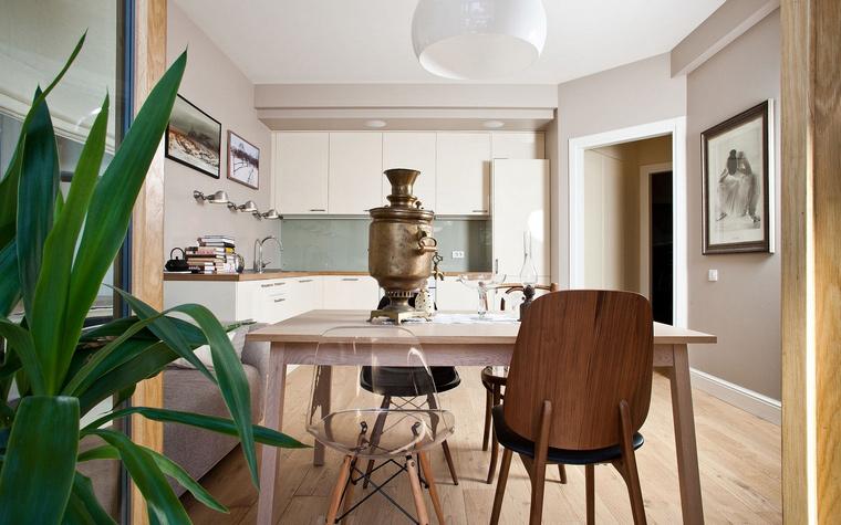 Квартира. столовая из проекта , фото №40833