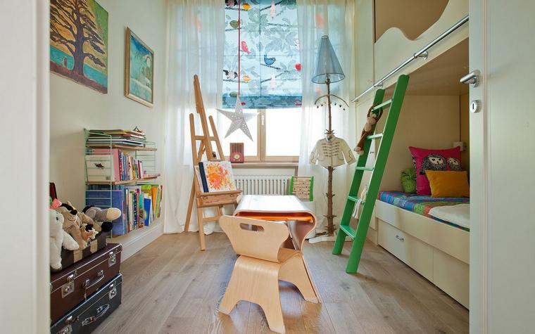 Квартира. детская из проекта , фото №40837