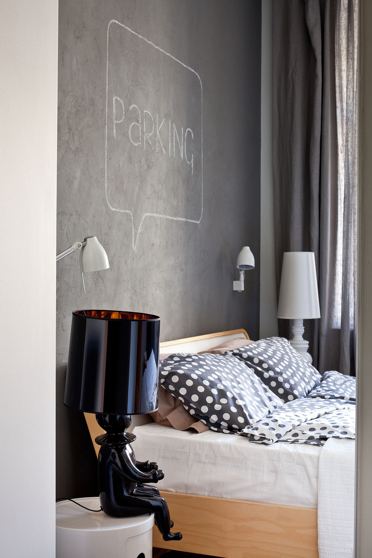 Квартира. спальня из проекта , фото №40835