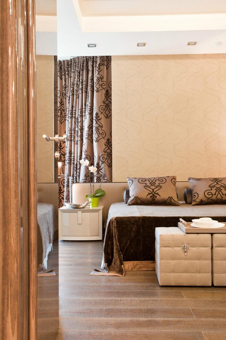 Квартира. спальня из проекта , фото №40867