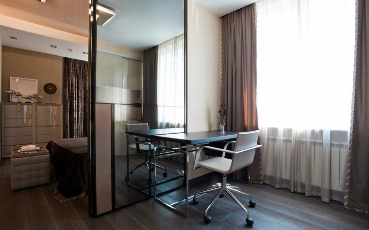 Квартира. кабинет из проекта , фото №40868