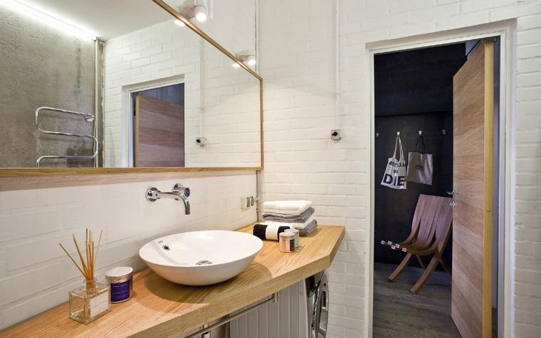 Квартира. ванная из проекта , фото №40921